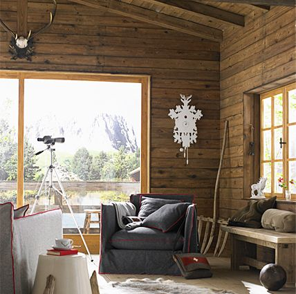 einrichten im chalet stil alpenpins pinterest. Black Bedroom Furniture Sets. Home Design Ideas