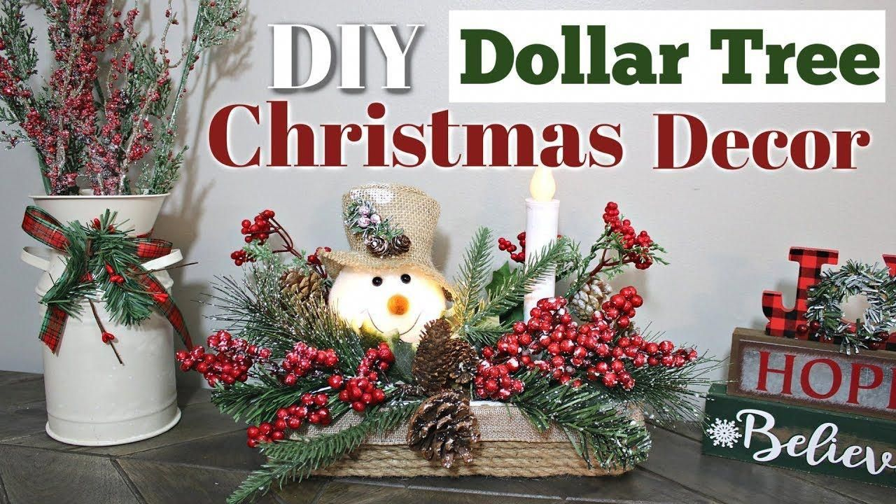 DIY Dollar Tree Christmas Decor Dollar Tree Lighted