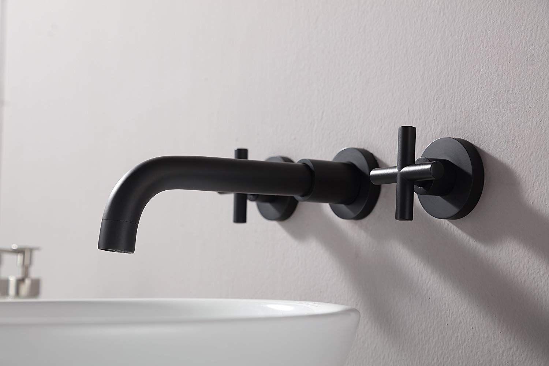 stiges matte black bathroom faucet