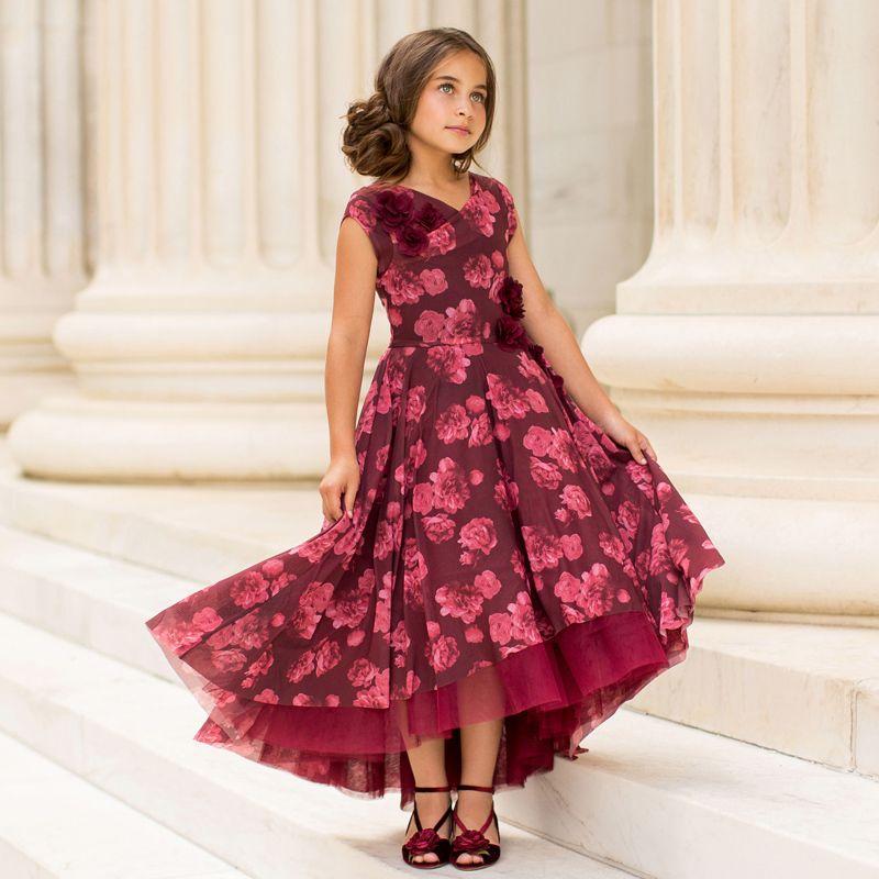 Joyfolie Holiday Juliette Dress - Berry