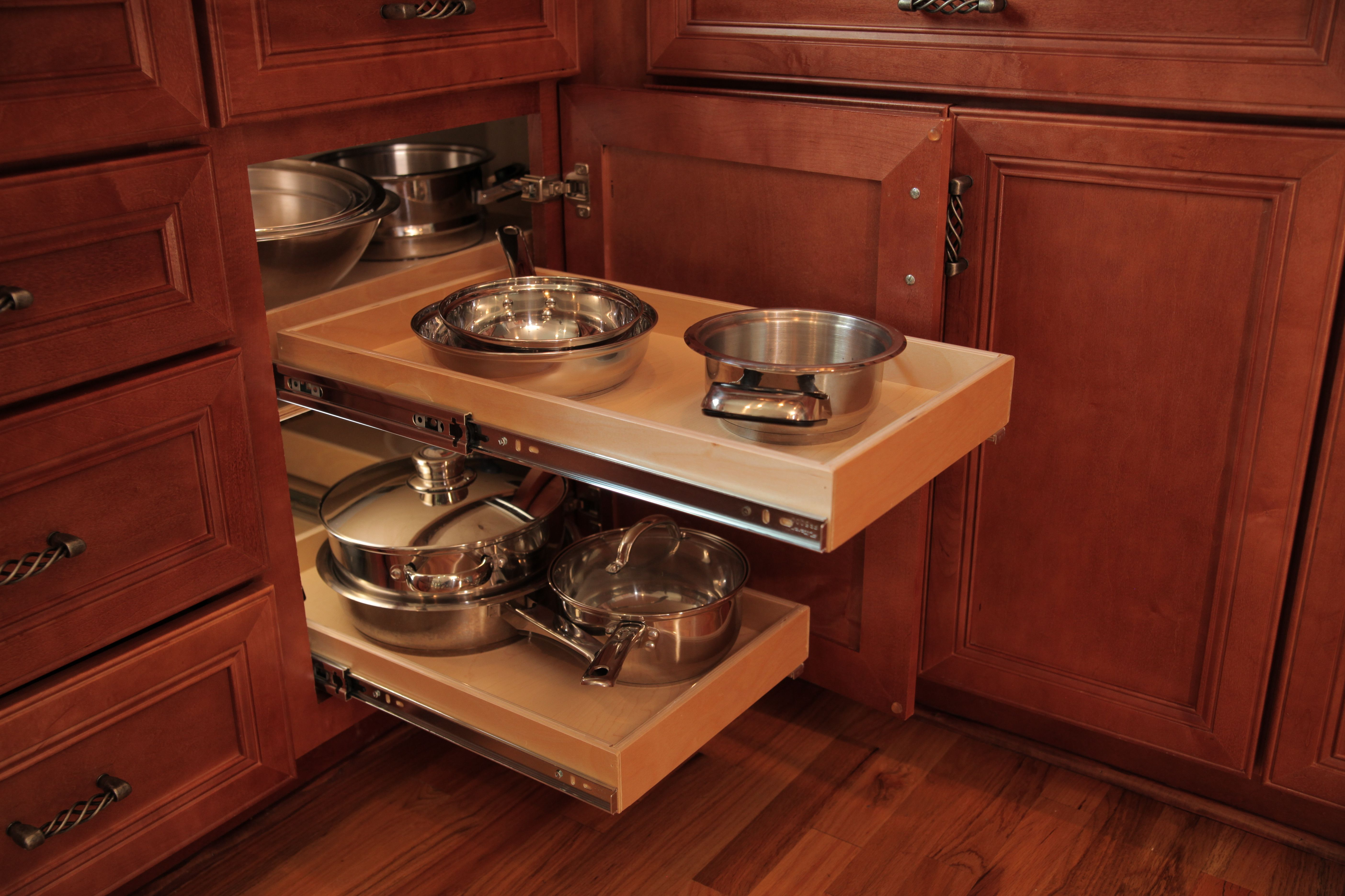 Blind Corner Kitchen Cabinet Organizers Fresh Turntable Design Ideas