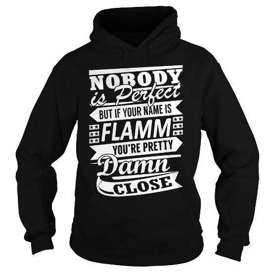 Awesome Tee FLAMM Pretty - Last Name, Surname T-Shirt Shirts & Tees