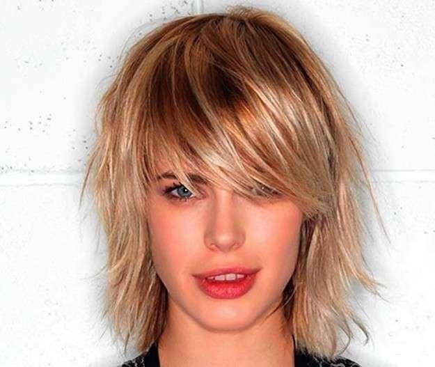 cortes de pelo escalonado fotos de los looks media melena