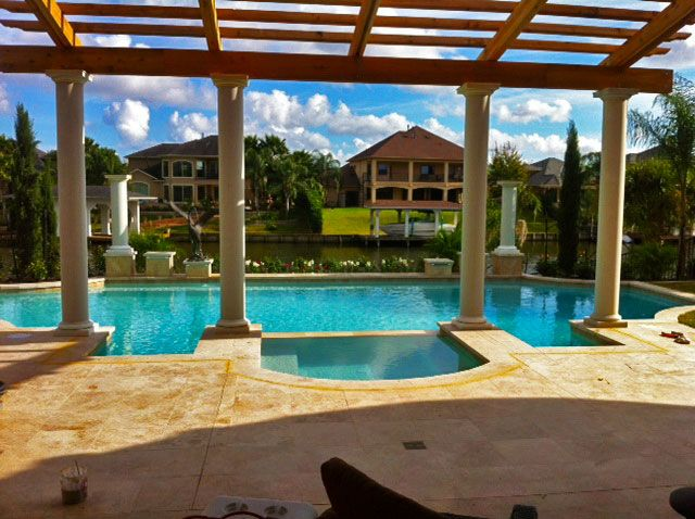Redman Pools Swimming Pool Design Images Of Swimming Pools In The Galveston And Houston