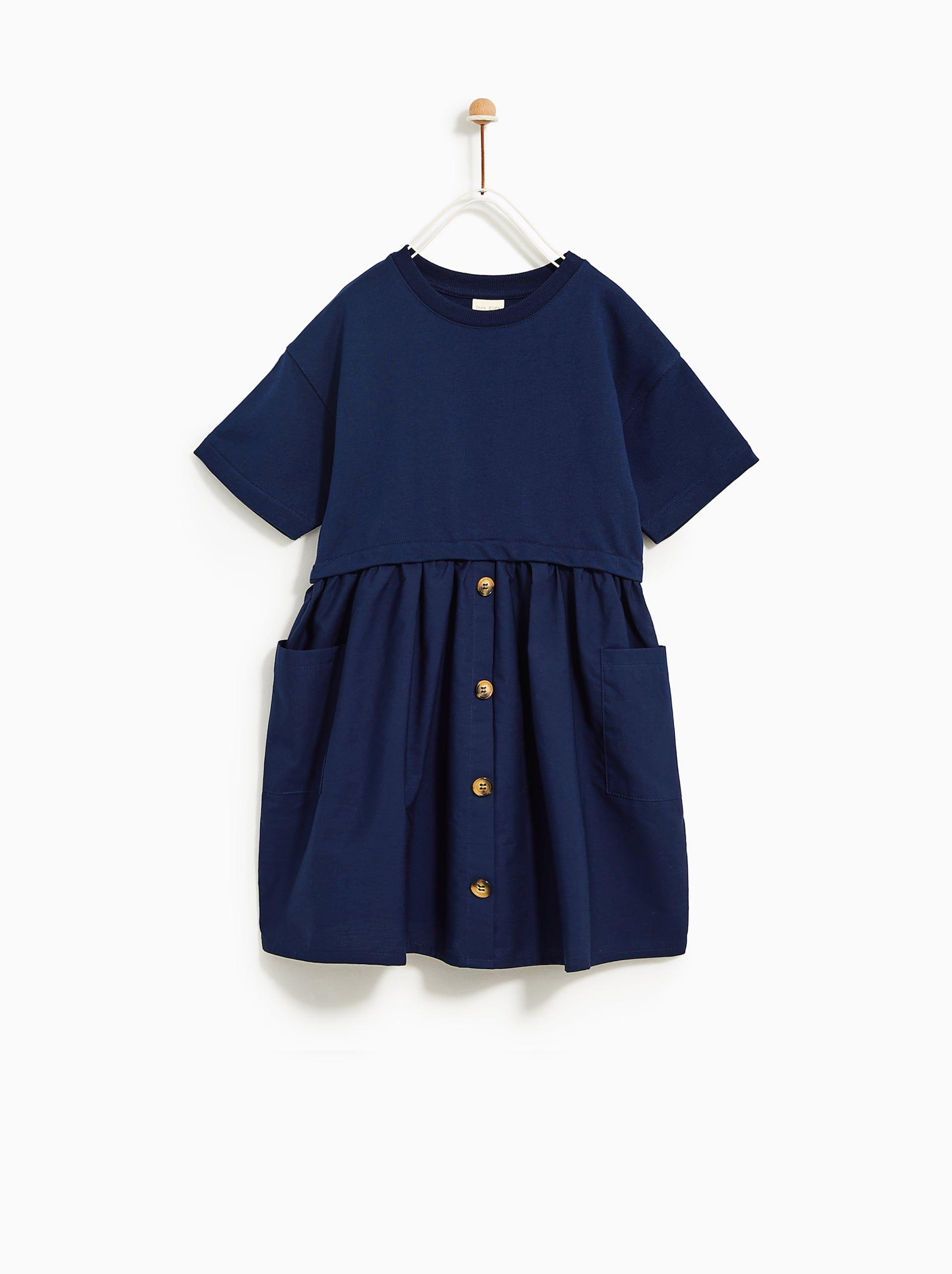 Combination Poplin Dress Kids Clothes Uk Discount Kids Clothes Kids Clothes Sale