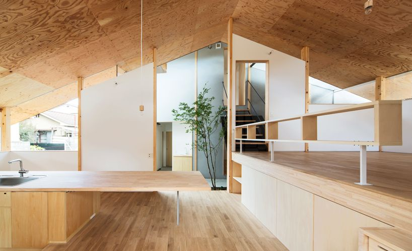 Y+m Design Office Eaves Around House Kyoto Japan Designboom