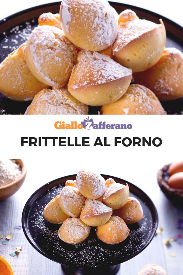 Ricetta Dolci Di Carnevale.Frittelle Al Forno Ricetta Frittelle Al Forno Ricette Frittelle