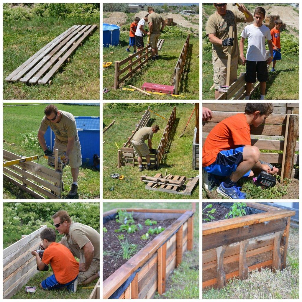Pallet Craft: How To Make A Garden Grow Box