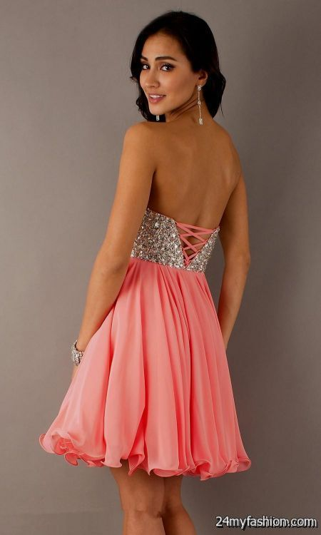 Nice Coral Short Formal Dresses Review Check More At Http