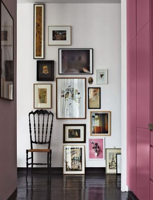 gallery wall: eclectic   THE F&M GUIDE TO FRAMING
