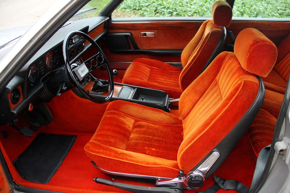 Fiat 130 Coupe What A Fabulous Glam Interior With Images Fiat