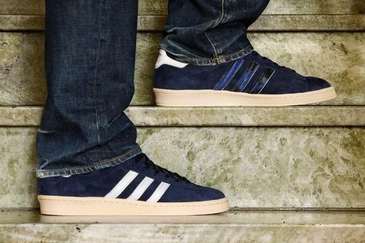 finest selection bb779 6d917 Foot Patrol x adidas Originals Campus 80s