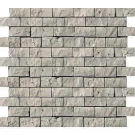 Emser Travertine Silver Silver Travertine Border Tile Common 12