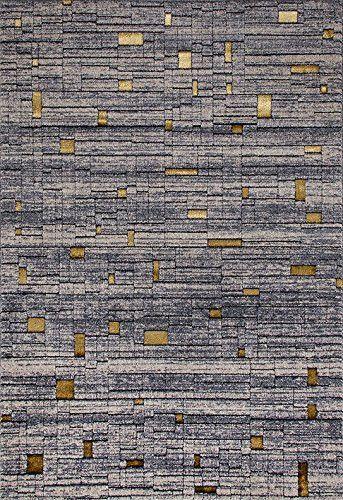 6067 Gray Contemporary Area Rugs