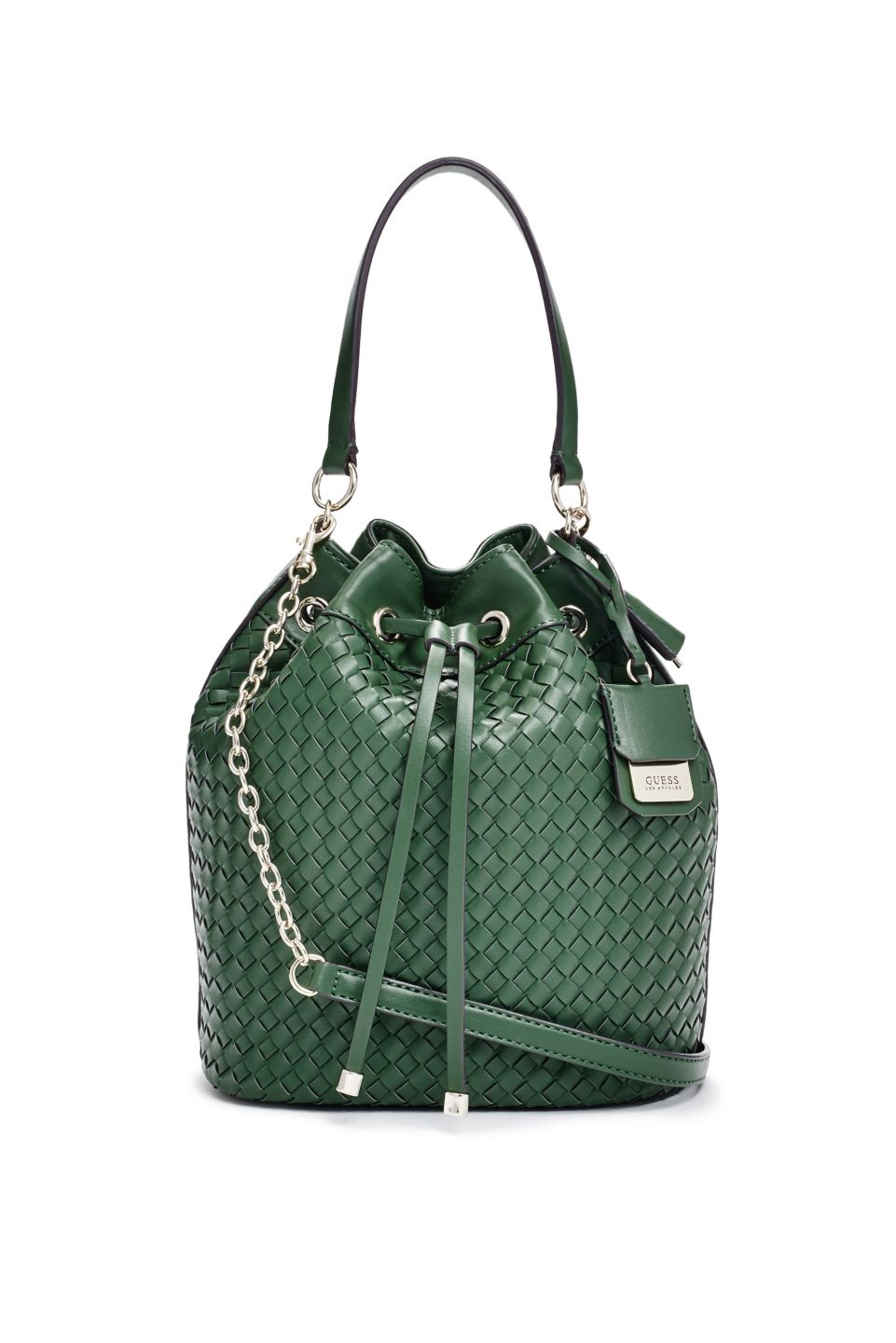 db25c09e7a Zoie Drawstring Bucket Bag | GUESS.com | GUESS / Accessorize | Bags ...