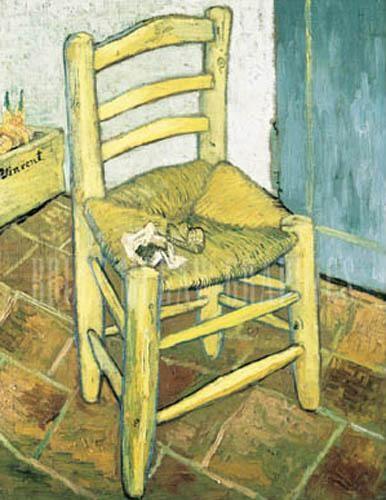 vincent van gogh la chaise et la pipe coloring famous paintings pinterest van gogh and pipes. Black Bedroom Furniture Sets. Home Design Ideas