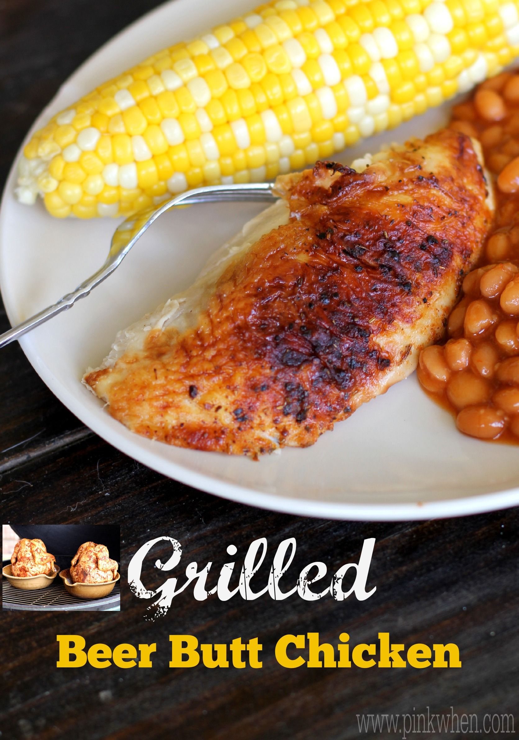 One of the most delicious and moist grilled chicken recipes you will ever taste! PIN this one for later!