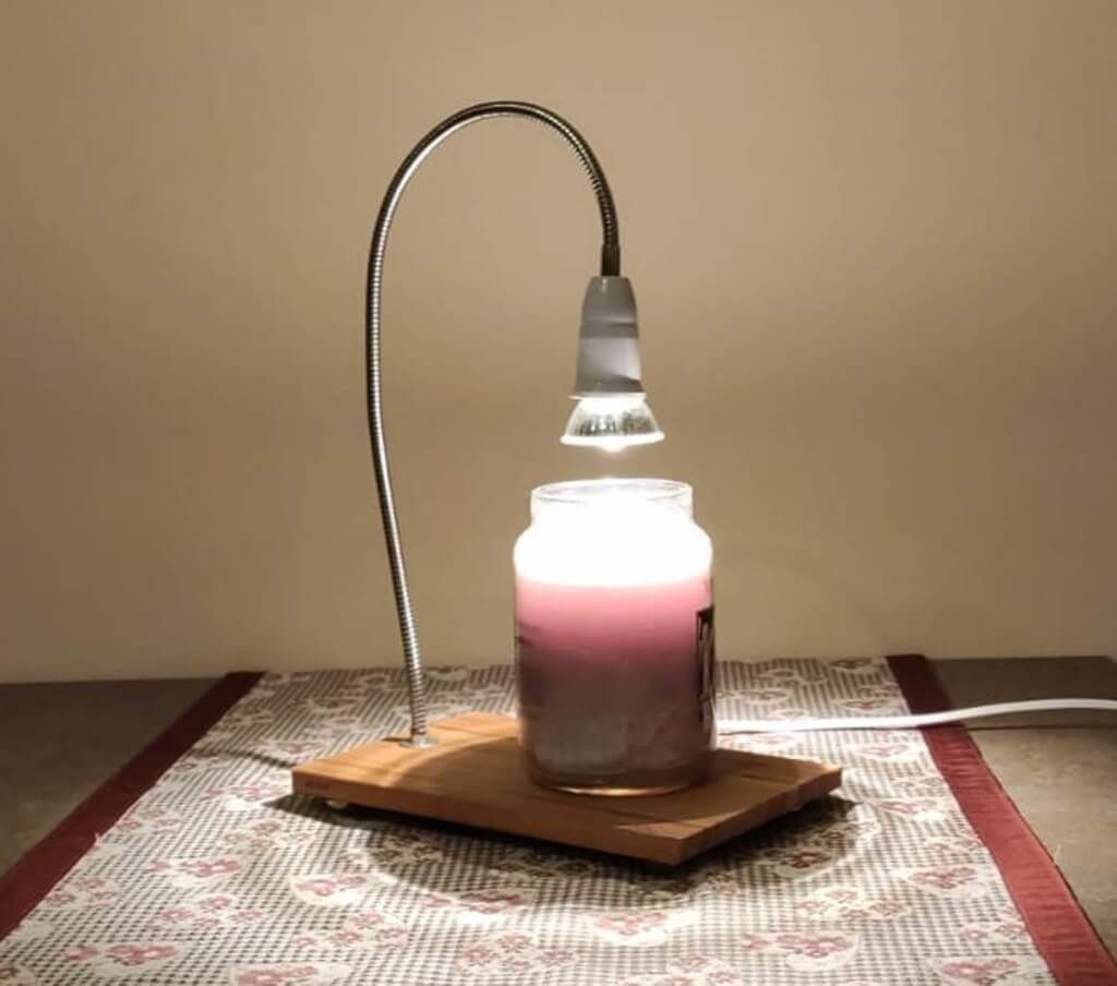 Https Www Ikeahackers Net Wp Content Uploads 2019 12 Candle Warmer Final 1 Jpg Candle Melter Candle Warmer Lamp Candle Warmer