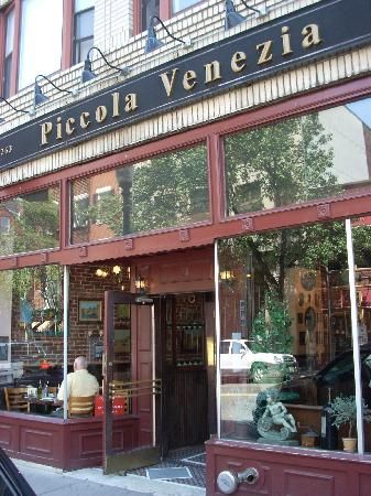Piccola Venezia Is Easy To Find On Hanover Street Boston