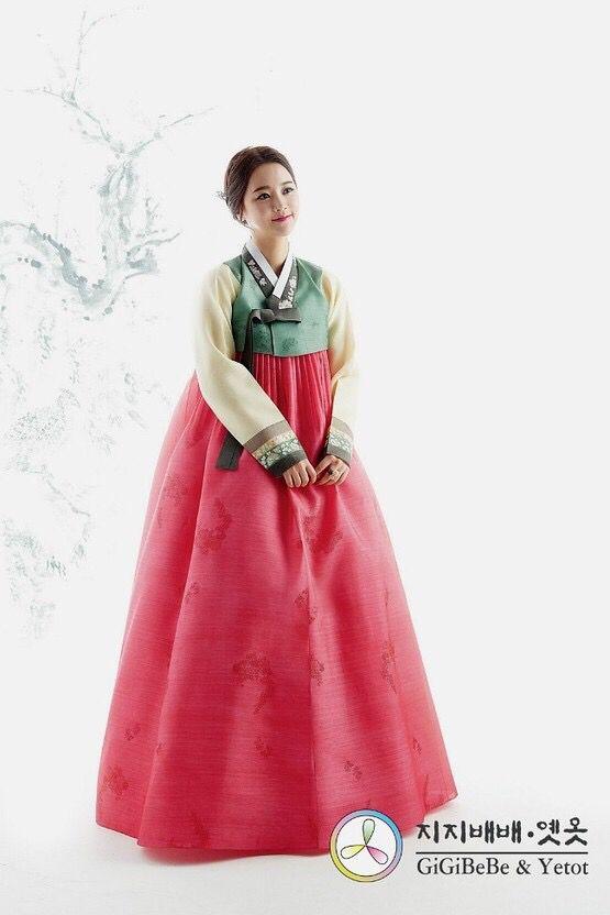 Korea traditional dress 'hanbok'