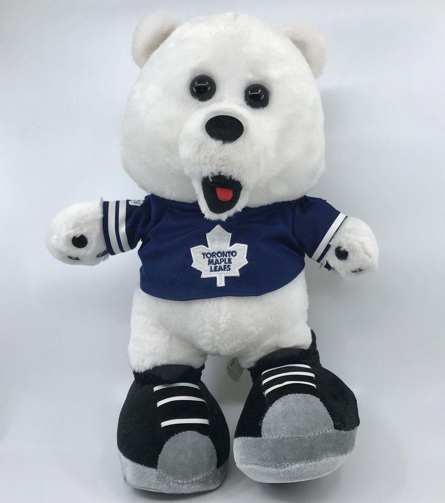 Ganz Toronto Maple Leafs NHL Hockey Plush Mascot Carlton