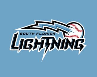 South Florida Lightning By Struve Sports Logo Inspiration Sports Logo Design Lightning Logo
