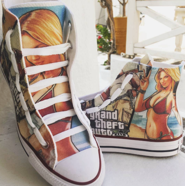 d0ba393bc04d Pinterest    MazLyons GTA V shoes!! I just want them to put on