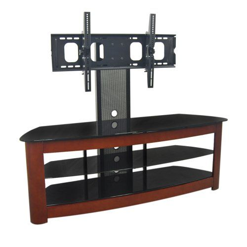 Walker Edison Regal 60 In 4 In 1 Tv Stand With Mount 26897