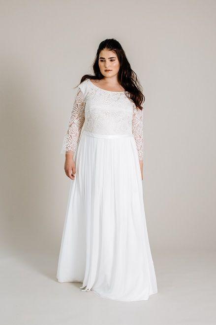 Plus Size Boho-Brautkleid | Hochzeitskleider | Pinterest | Wedding ...
