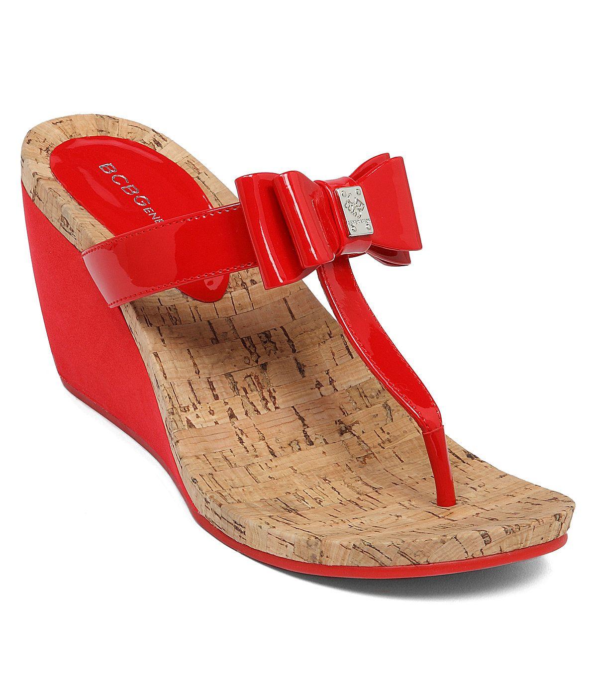 BCBGeneration Michelle Wedge Sandals | Dillards.com