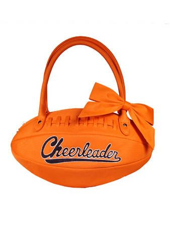 Football Shaped Purse Totally Made Me Laugh