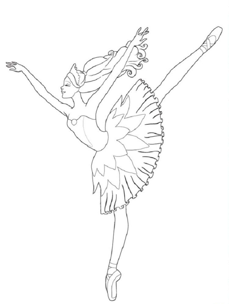Coloring Pages Barbie In The Pink Shoes Barbie Coloring Pages Barbie Coloring Ballerina Coloring Pages