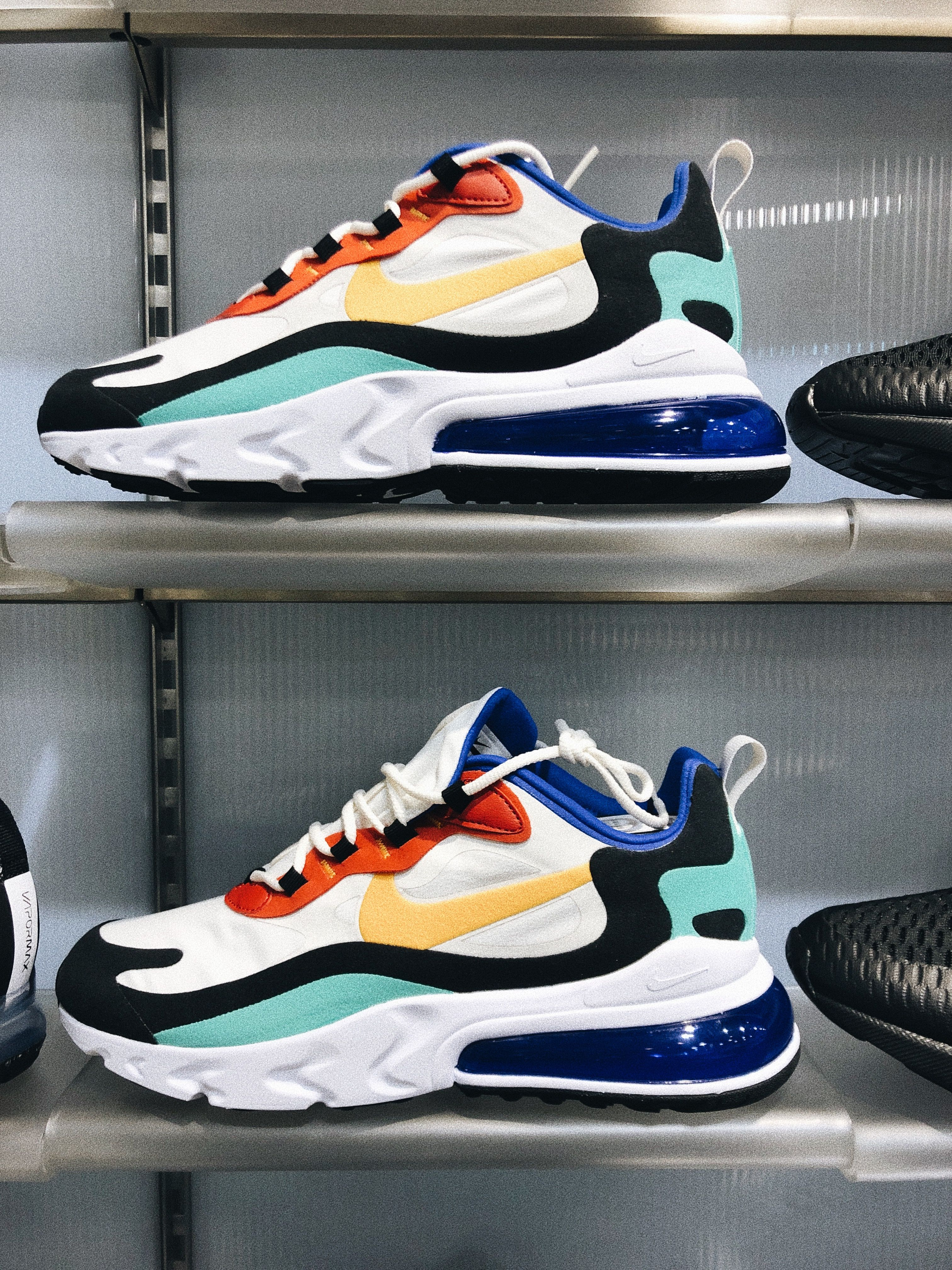 Men's Nike Air Max 270 React Casual Shoes en 2020 | Modelos