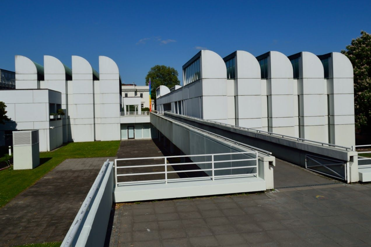 Bauhaus Archiv, designed in 1964 (built in 1970s) by