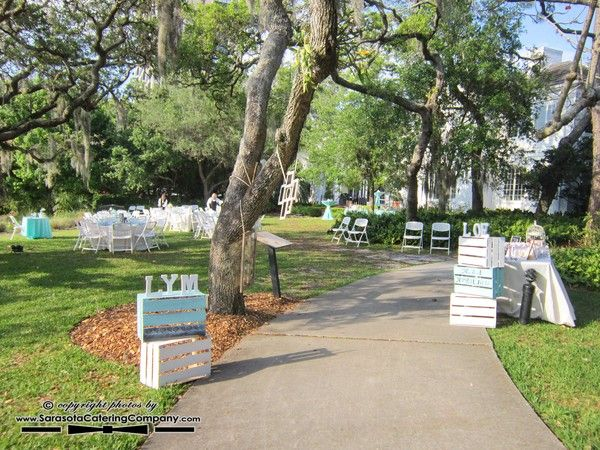 Marie Selby Botanical Gardens Wedding In Sarasota, FL By Sarasota Catering  Company (686)