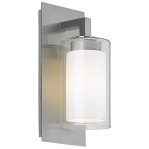 Feiss Mol13000bs Salinger Entrance Outdoor Wall Light Brushed Steel Contemporary Outdoor Lighting Outdoor Wall Lantern Wall Lantern