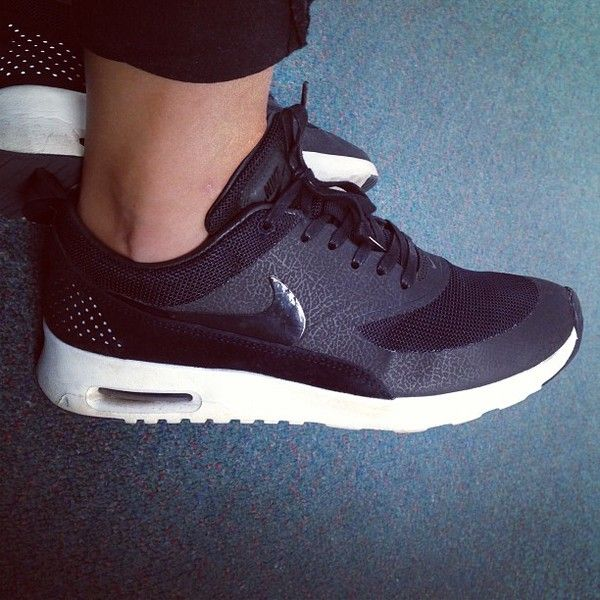 Nike Air Max Thea Women's Running Shoes Black/White/