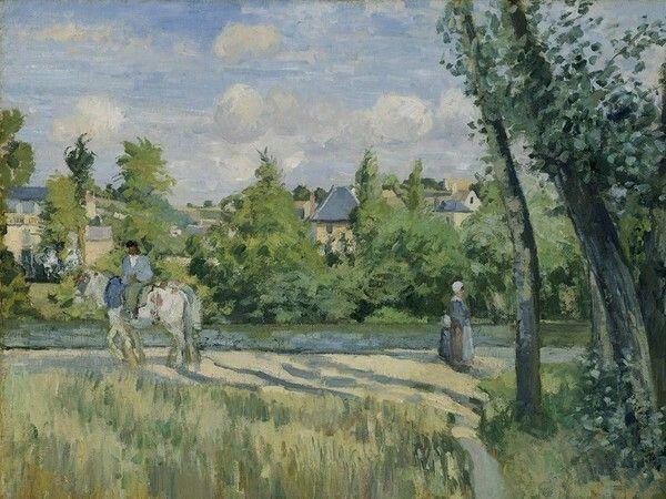 Pontoise. 1874. MFA Boston