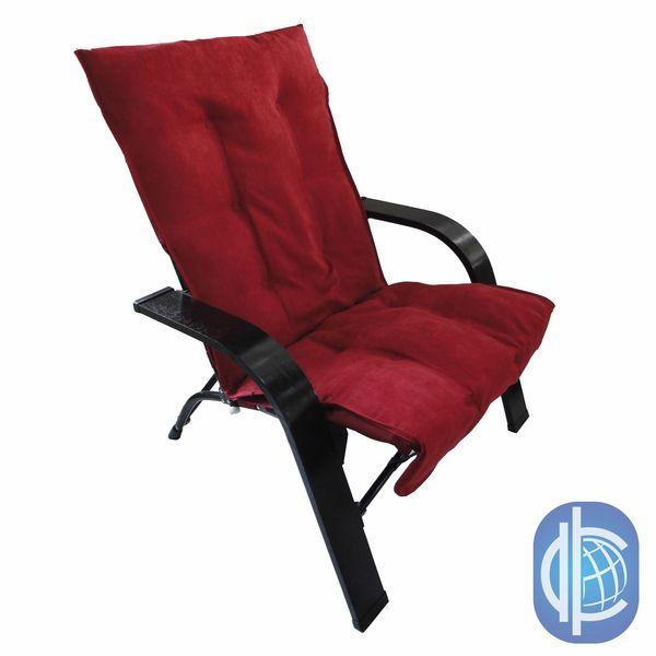 international caravan indoor outdoor folding chair with wooden arms