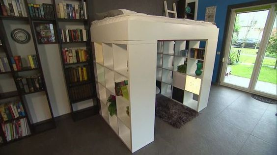 Do It Yourself: Hochbett Aus IKEA-Regal