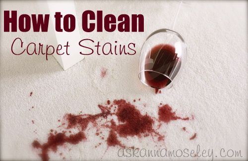 How to get Wine out of Carpet | cleaning :: tips from the ...