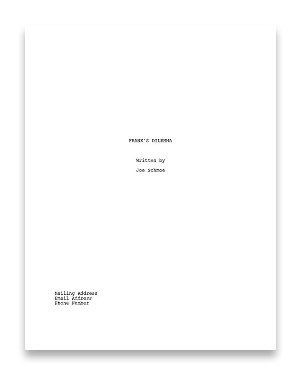 Nyc Midnight How To Write A Screenplay The Basics Writing