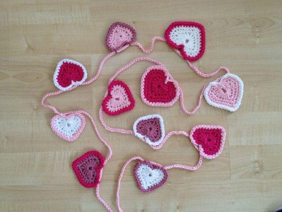 Heart Garland (10 Hearts)
