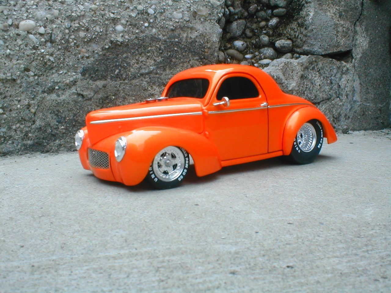 41 willys truck kit - Example Of A Customized Willys Plastic Model Kit Http Www Hobbylinc