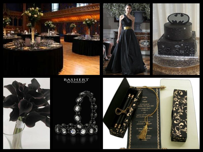 Batman Wedding Theme, Love The Cake, Color Combo, And Over All Execution.