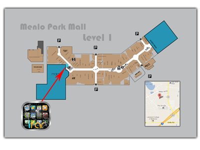 Image result for west town mall map | Stuff to Buy | Menlo ...