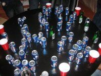 Drinking games... a competitive alcoholics best friend :)