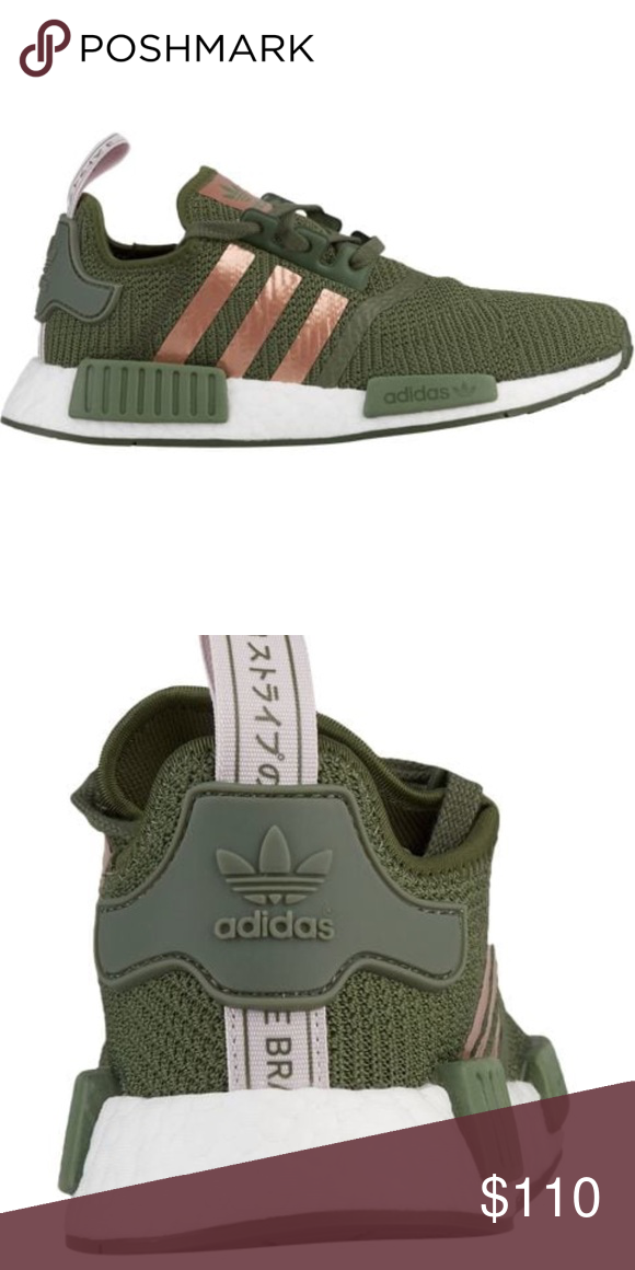 39b8f70707225 Adidas Originals NMD R1 Green White Ice Purple. Brand new with tags! Super  cute. Size 6.5 in women s.  110 adidas Shoes Sneakers
