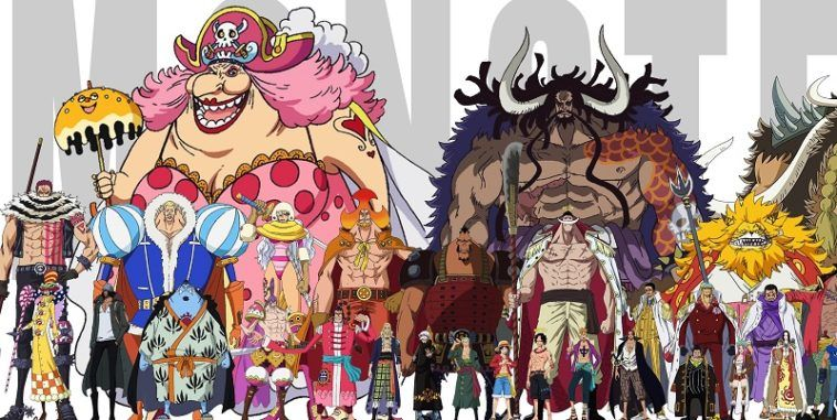 Top 30 One Piece Character Sizes Ranked One Piece Movies One