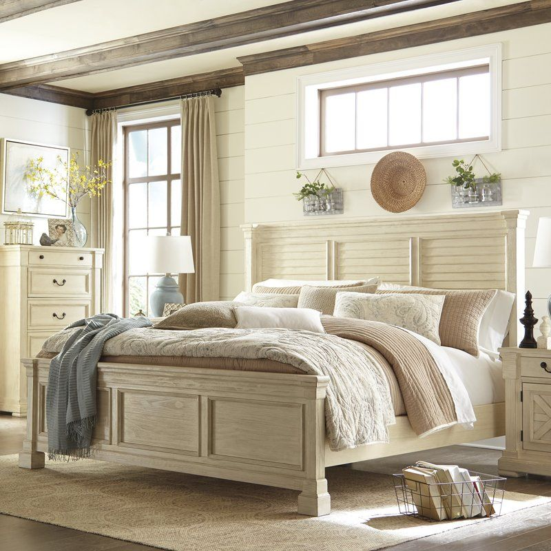 Alsace Traditional Wood Panel Bed & Reviews Birch Lane